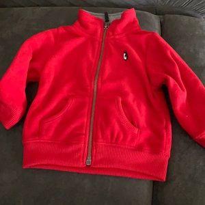 Carter's 9m fleece zipper jacket